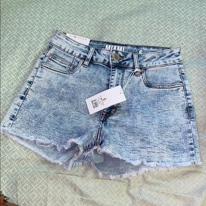 High rise shorts from CR